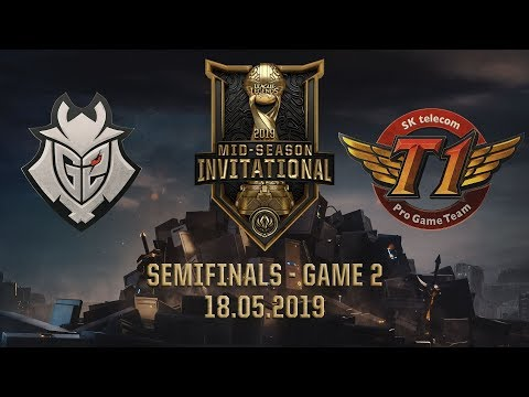 SKT vs G2 [MSI 2019][18.05.2019][Semifinals][Game 2]