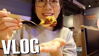 (ENG) Taiwan🇹🇼 VLOG| Korean Intestine BBQ🌶️, Supermarket haul, Back to U.S.✈️😭