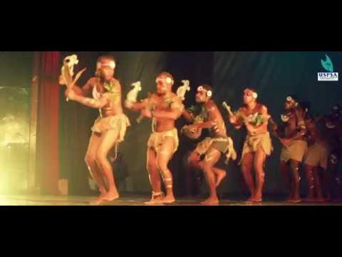USP Laucala - Solomon Islands students cultural performance