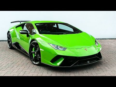 The Lamborghini Huracán Performante is EPIC!