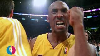 Kobe Bryant's Top 10 Clutch 3 Pointers!