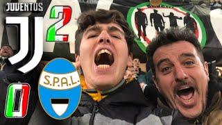 JUVENTUS 2-0 SPAL | LIVE REACTION dall'ALLIANZ STADIUM al GOL di RONALDO HD!! (Curva Sud)