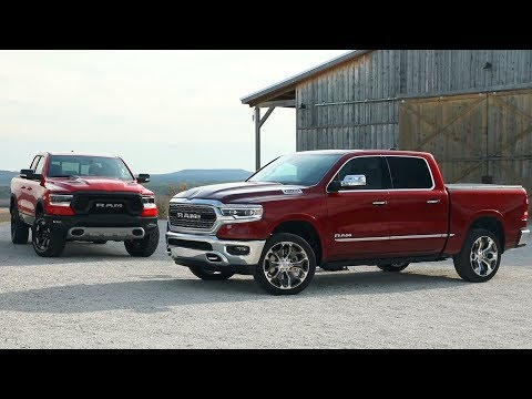 Ram 1500 and Ram Rebel 2019 | Big screen like a Tesla! | Manufacturer video