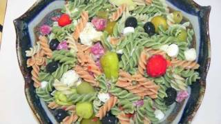Italian Pasta Salad Recipe - Loaded With Great Stuff!