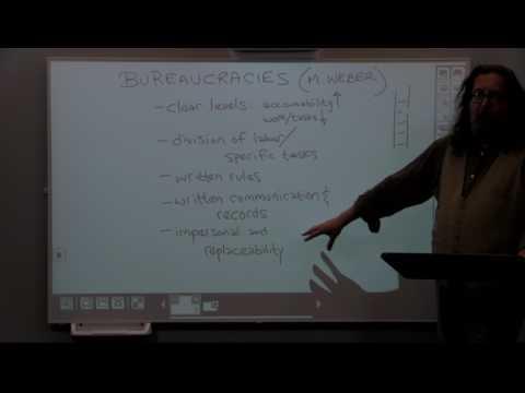 Module 5, Lecture 2: Bureaucracies