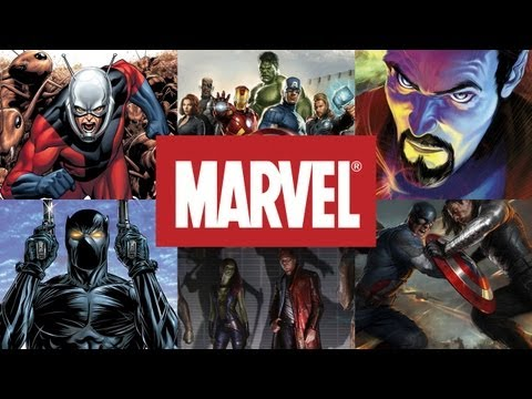 Marvel Cinematic Universe Mapped Out Through 2021