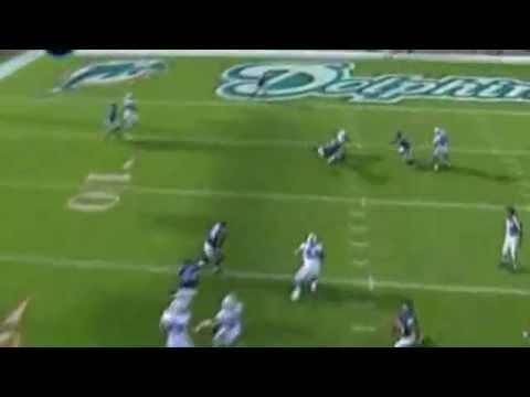 Ravens Ed Reed 2nd interception from Chad Pennington 2008season Wildcard