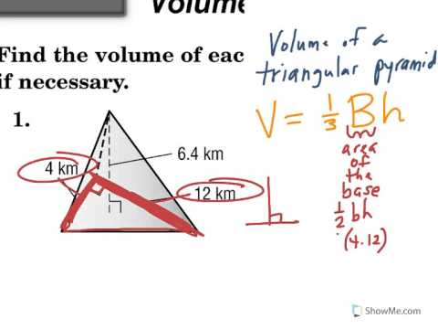 Volume of a triangular pyramid youtube volume of a triangular pyramid ccuart Choice Image