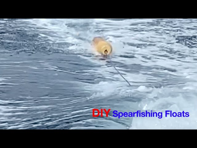How to Make Your Own Floats for Spearfishing