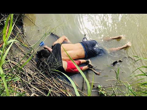 Drowned father and daughter in Rio Grance shows peril migrants face at southern US border