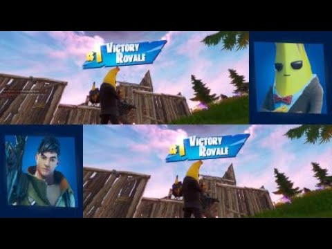 Fortnite Split Screen PS4 || Couch Play || Victory || New Season || Chapter 2 Season 2