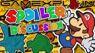 """""""Holy $%@*!"""" Let's Discuss Paper Mario: The Origami King's Spoilers! - SPOILERCAST"""