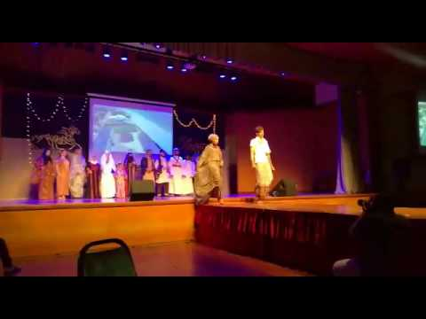 Fashion show , a day in arabia (ucsi) part 4