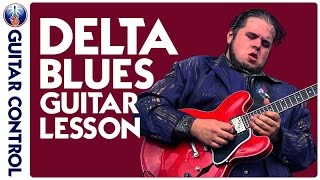 Killer Southern Rock Groove and Delta Blues Licks Guitar Lesson with Jonathon `Boogie´ Long