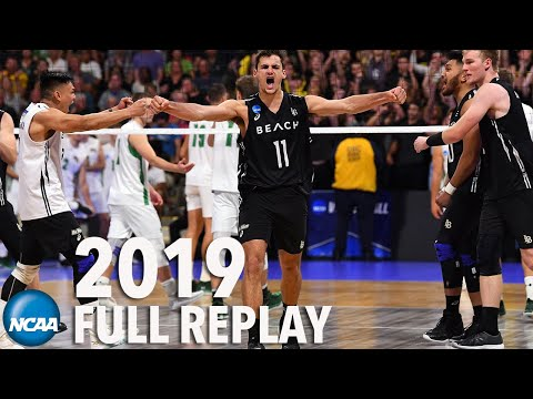 2019 NCAA men's volleyball championship: Long Beach State v. Hawaii