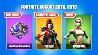 *NEW* ACE STARTER PACK Available Now! Fortnite Daily News Update