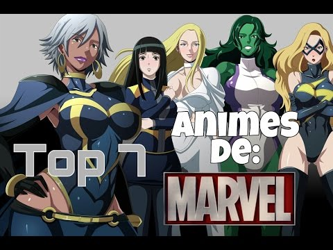 Top 7 - Animes de Marvel