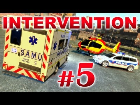 GTA IV Mods French : INTERVENTION 5 | CONVOI SAMU & POLICE