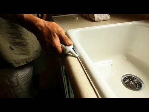 Amazing Simplist Way On How To Re Caulk Your Kitchen Sink