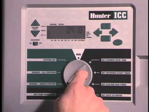hunter icc timers youtube rh youtube com Hunter ICC 800 Parts Manual Hunter ICC Irrigation