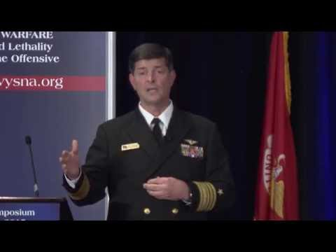 Surface Navy Association - Vice Adm. William F. Moran