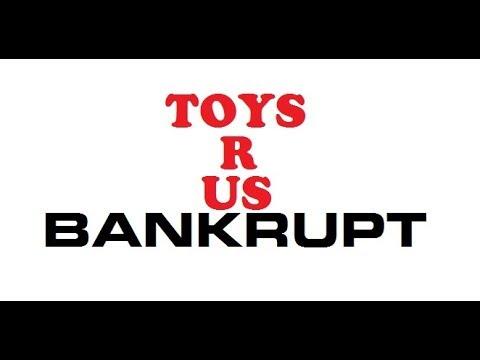 Toys R Us BANKRUPT My Reaction