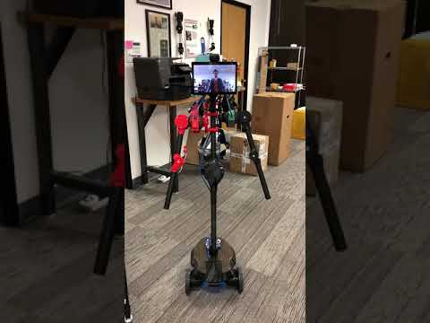 OhmniLabs Teleop R&D, Inverse Kinematics all implemented on top of Dev Kit