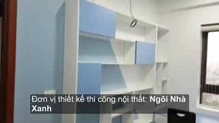 Nội thất phòng bé trai tại chung cư Cienco4 thành phố vinh, Nghệ An