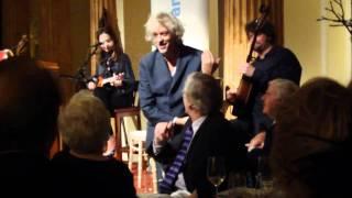 Bob Geldof,  Jeanne Marine and Eoin Joe Doyle.