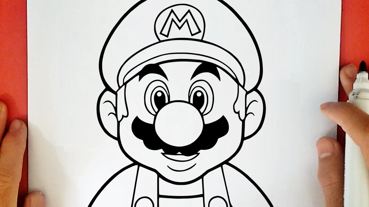 How To Draw Super Mario Youtube