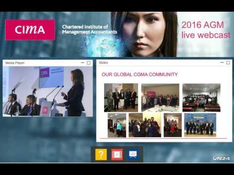 CIMA AGM Webcast 2016