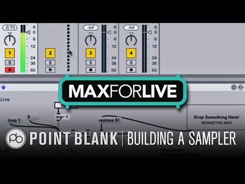 Max for Live Tutorial: Building a Sampler Part 1