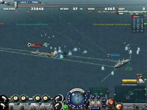 Navy Field - Gameplay Video