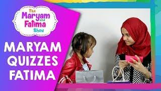 Zaky TV: Cute Video of Maryam Quizzing Fatima About Islam