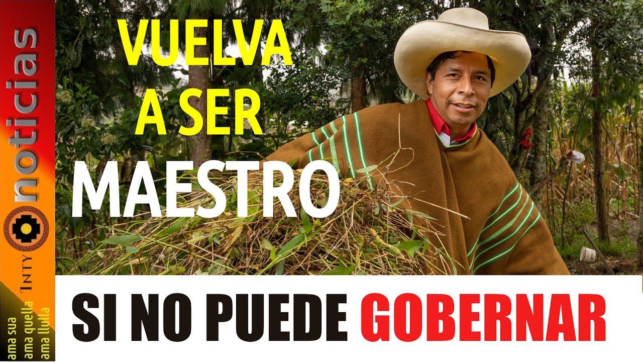 578-EL PERÚ NECESITA UN LÍDER VALIENTE Y DECIDIDO, señor PRESIDENTE !!