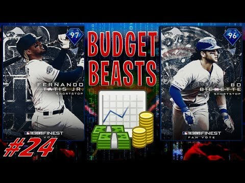 BUDGET BEASTS (#24) FACING WORLD SERIES GOD SQUAD! MLB THE SHOW 19 RANKED SEASONS