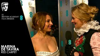 Marina de Tavira on Roma | EE BAFTA Film Awards 2019