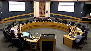 Youtube video::July 16, 2019 Council Closed Session Public Meeting
