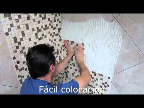 Slimmosaic reformas faciles con mosaicos - Tapar azulejos sin obra ...