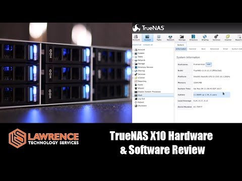 TrueNASX10 Hardware & TrueNAS Software Review