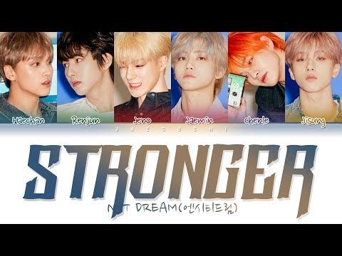 NCT DREAM (엔시티 드림) - STRONGER (Color Coded Lyrics Eng/Rom/Han/가사)