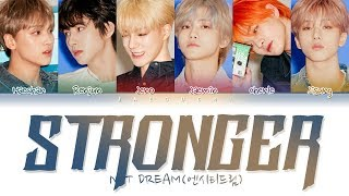 NCT DREAM (엔시티 드림) - STRONGER (Color Coded Lyrics Eng/Rom/Han/가사)