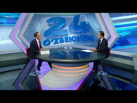 IUT Rector's interview to Uzbekistan 24 channel