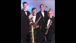Saxophone Quartet 1 Mvt. 1 (Excerpt) - Phil Woods - Morosco Saxophone Quartet