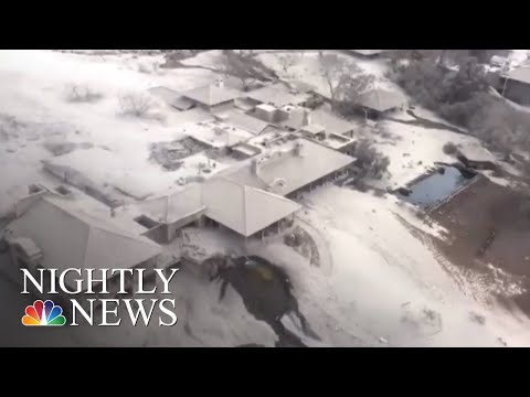Desperate Search For Loved Ones After Guatemala Volcano Eruption | NBC Nightly News