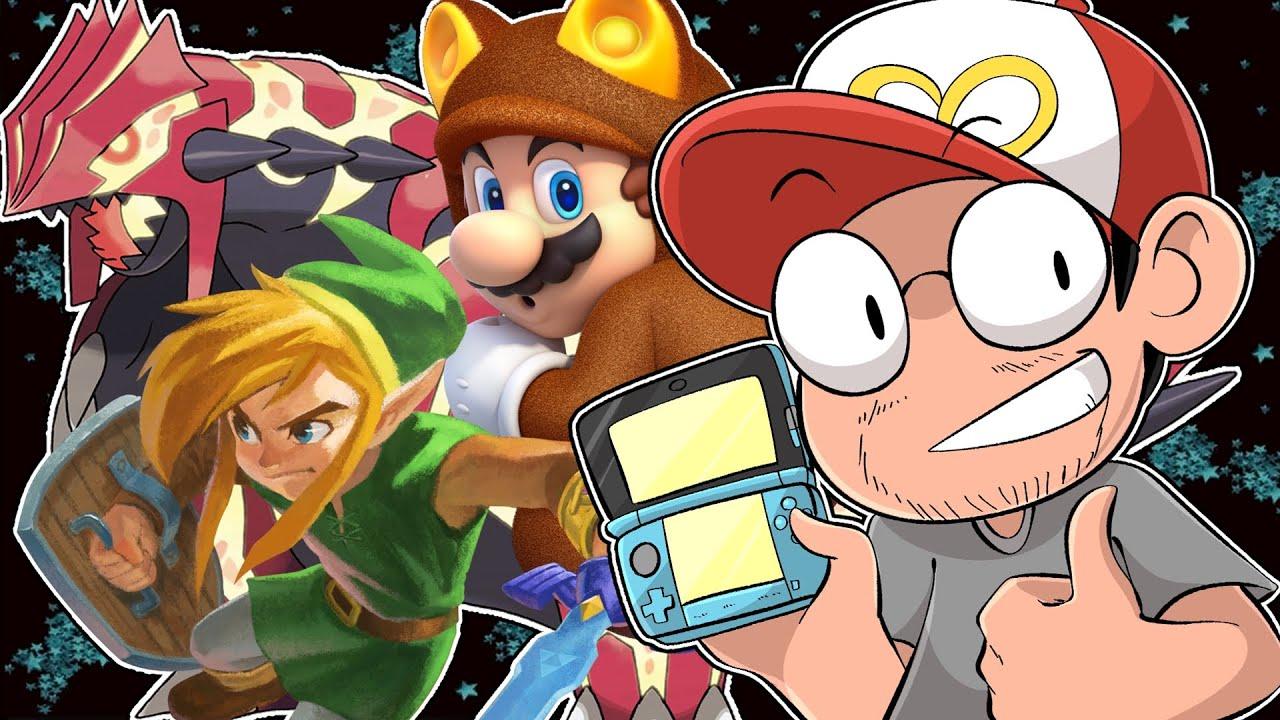 MELHORES JOGOS DE 3DS QUE MARCARAM MINHA VIDA - Meu Top 10