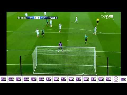 Real madrid vs fc schalke 04 3 - 1 Hoogland goal 18/03/2014
