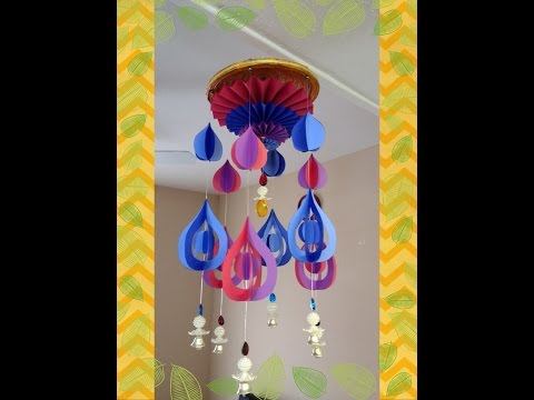 #diy Art and #craft #tutorial : DIY Wind Chime Part 4 of 4/ #howto make Wind Chime Part 4 of 4;
