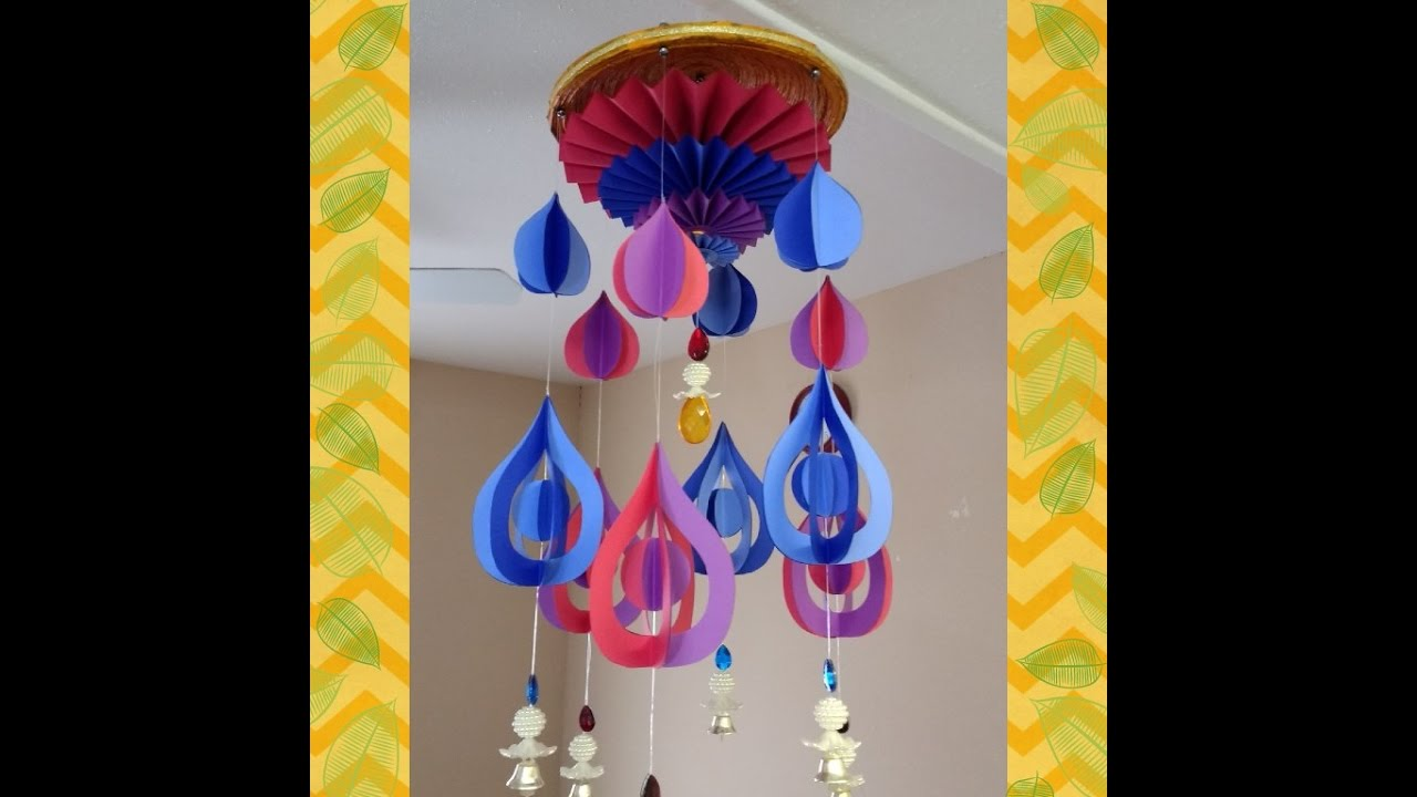 #diy Art And #craft #tutorial : DIY Wind Chime Part 4 Of 4
