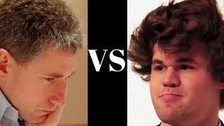 Michael Adams vs Magnus Carlsen - Olympiad 2010 - Pt 1 - Modern Defense - Norwegian (B06)